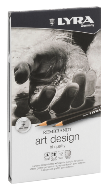 Lyra Rembrandt Art Design Grafietpotloden (12st)