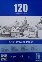 Schut tekenpapier 120 g/m² A3 (30st)
