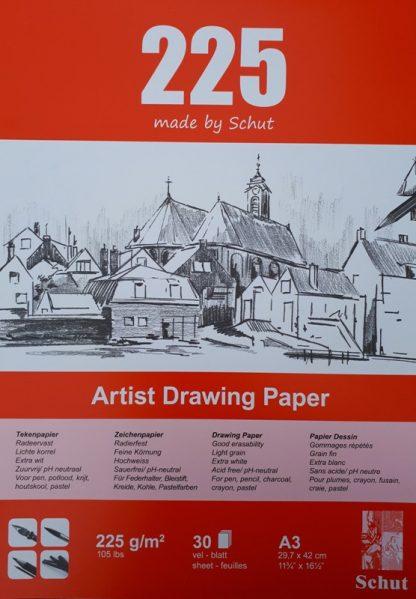 Schut tekenpapier 225 g/m² A3 (30st)