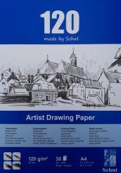 Schut tekenpapier 120 g/m² A4 (30st)