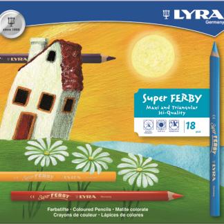 Lyra Super Ferby kleurpotloden (18st)