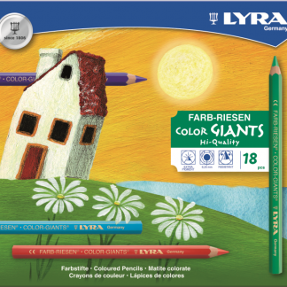 Lyra Color-Giants nature kleurpotloden (18 kleuren) 3941181